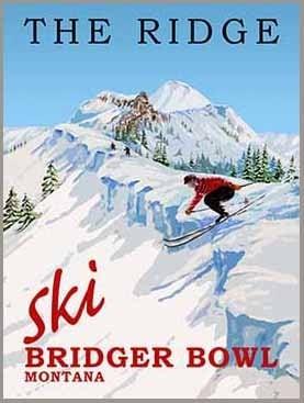 The Ridge Ski Bridger Bowl Montana Image