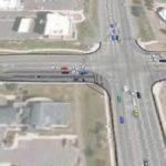 Oak Street Widening - Intersection Image