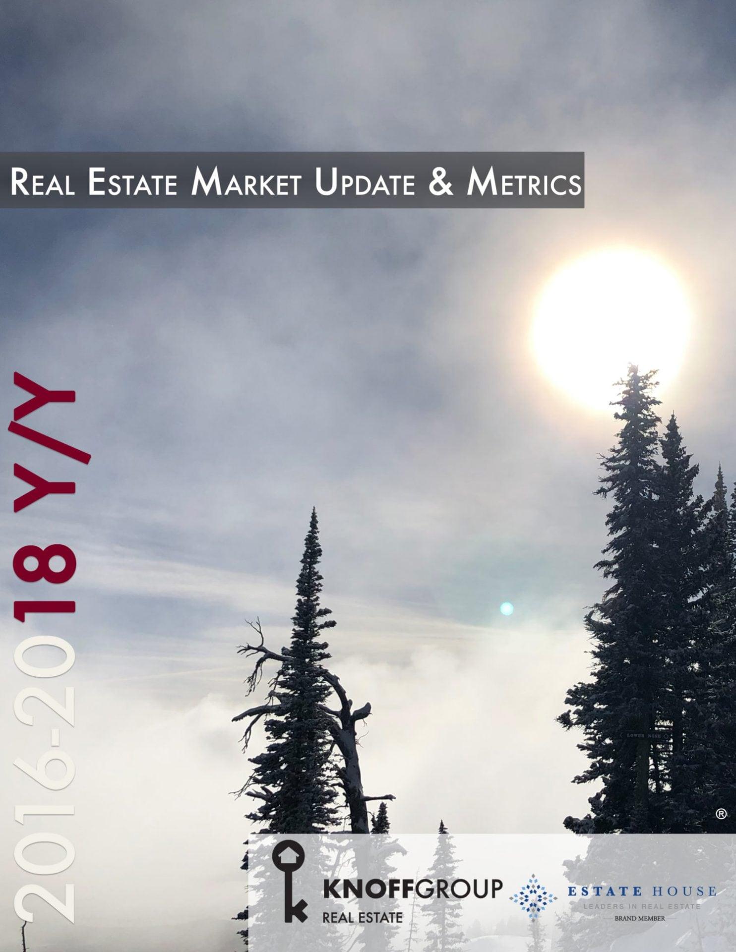 Real Estate Market Update and Metrics 2016-2018