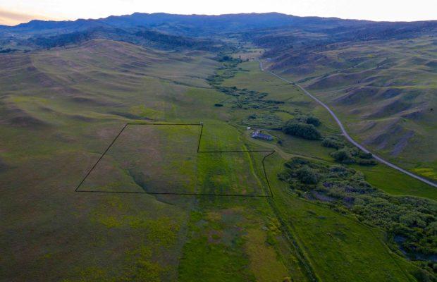 TBD Fleshman Creek - looking west