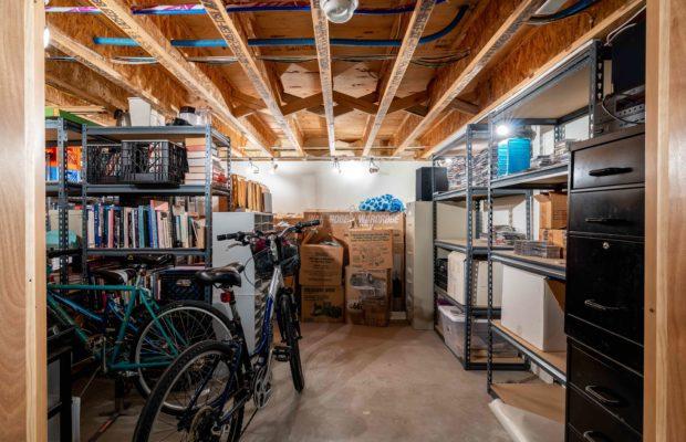 810 S Willson basement storage area