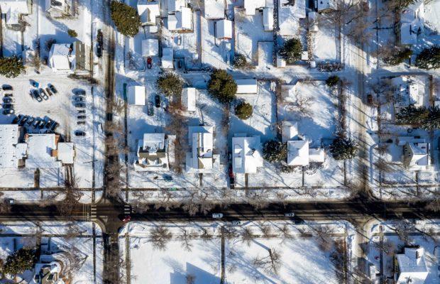 810 S Willson aerial view