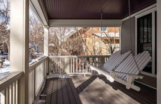 810 S Willson original porch swing