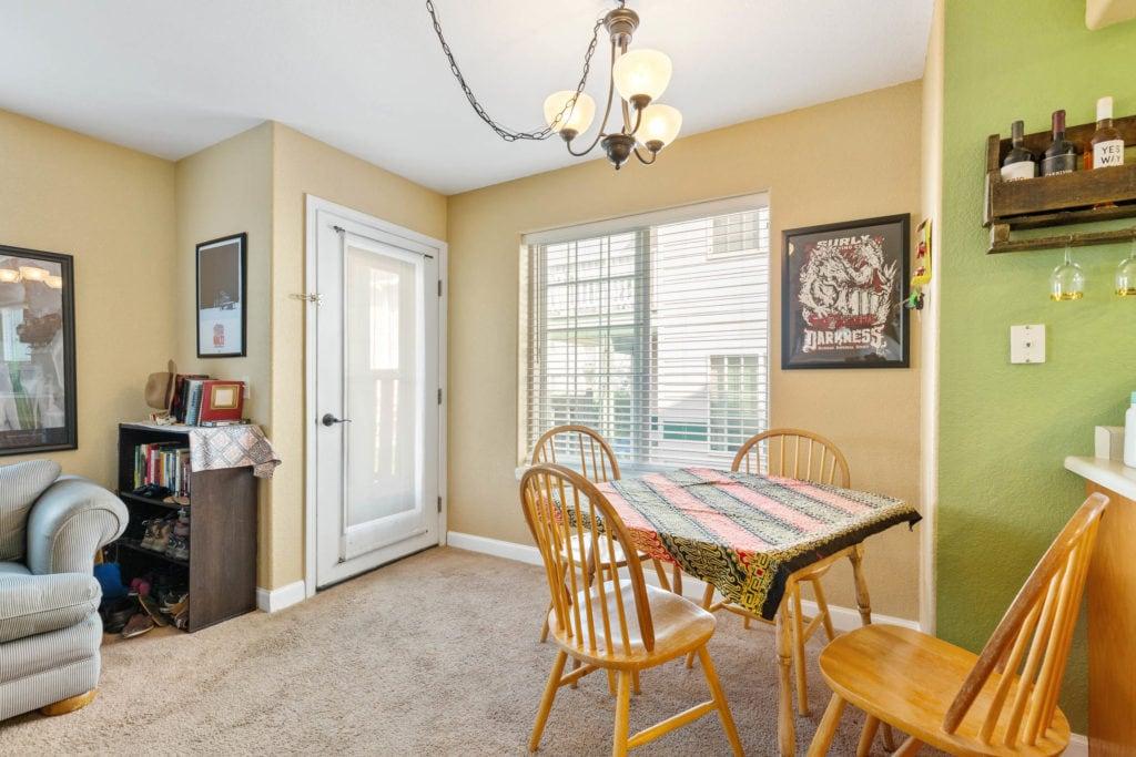 3012 W Villard, main living area looking towards dining area and patio entry door