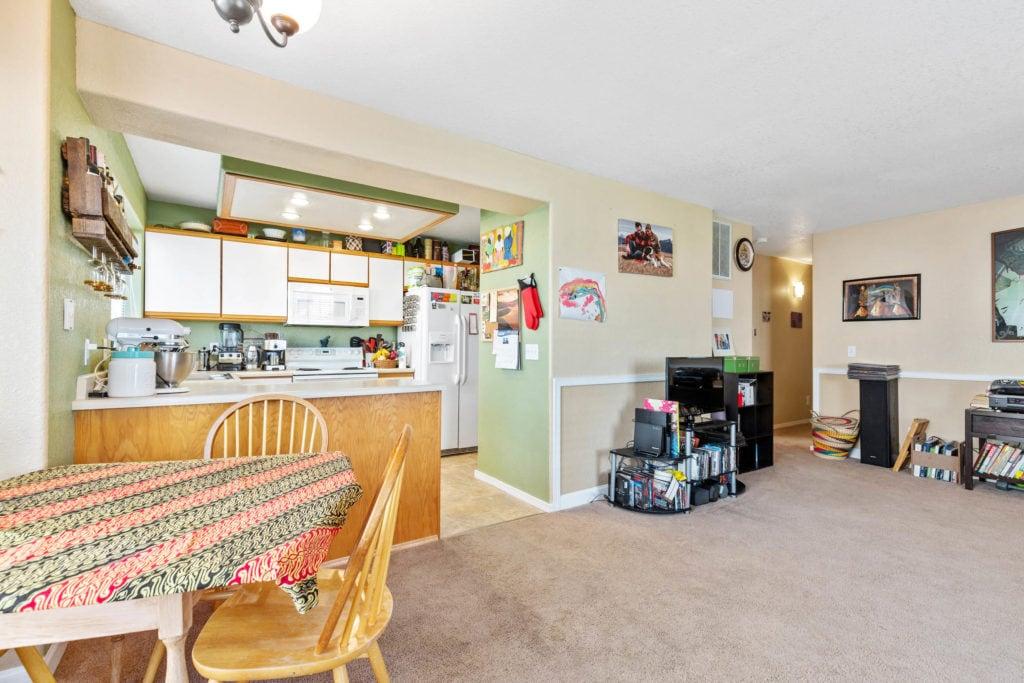 3012 W Villard, main living area from patio entry door
