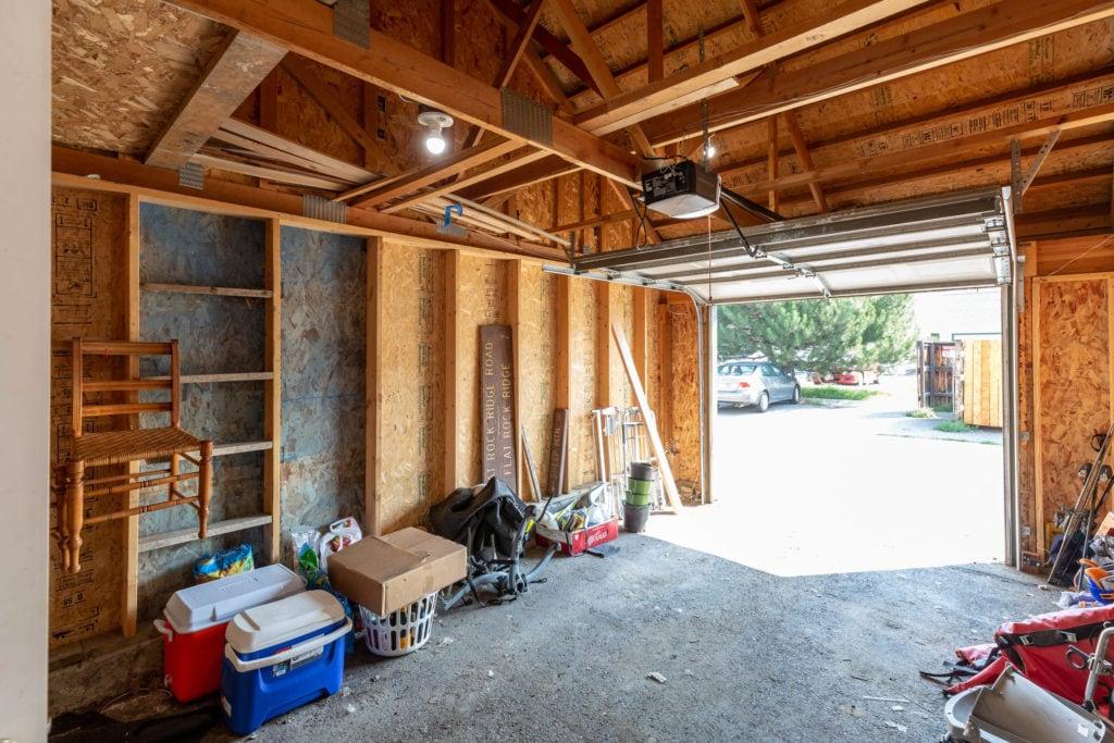 3012 W Villard, inside of detached garage belonging to unit