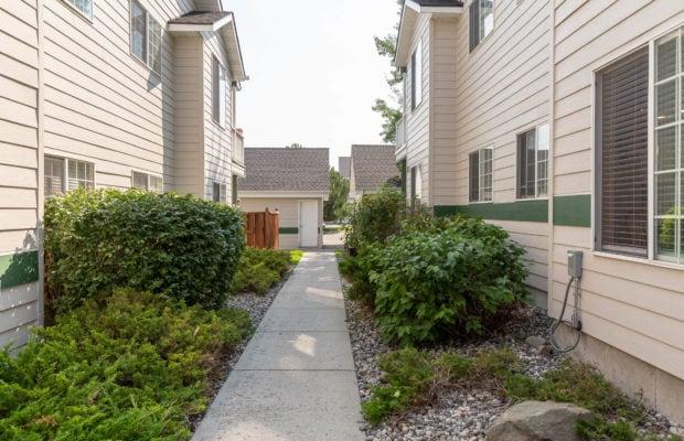 3012 W Villard, paved pathway between unit to detached garage
