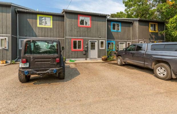 321 Perkins Place, Unit C, exterior parking area
