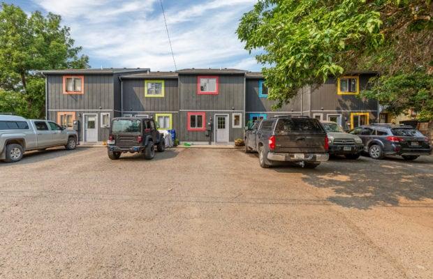 321 Perkins Place, Unit C, exterior parking area off of Perkins Place