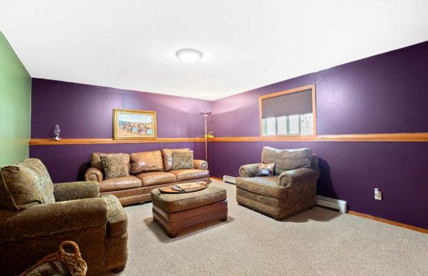 63 Bronco Drive Lower level living/family room