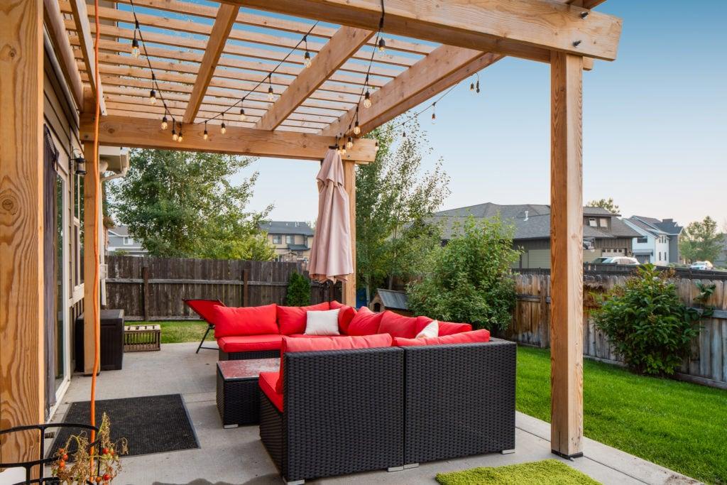 2397 Lasso Avenue backyard patio with pergola