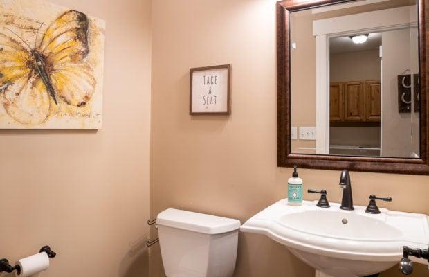 2397 Lasso Avenue half bath off of kitchen