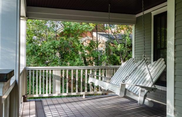 810 S Willson porch with original swing
