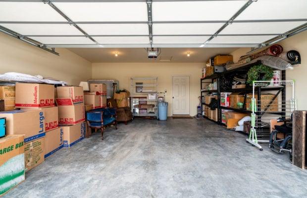3300 E Graf Unit 2 finished oversize 2-car garage