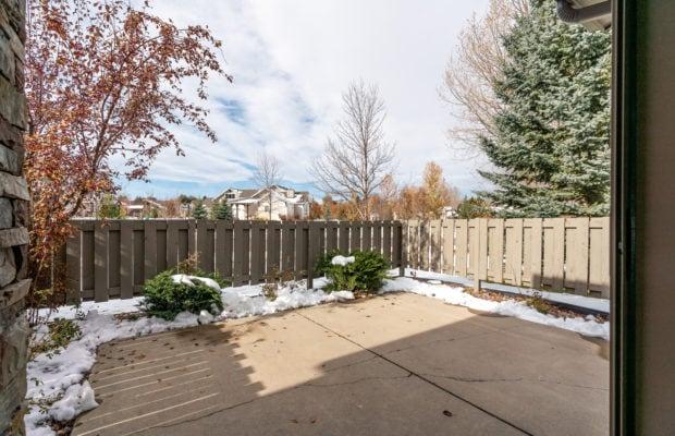 3300 E Graf Unit 2 fenced back patio