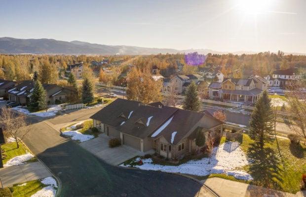 3300 E Graf Unit 2 aerial view including surroundings