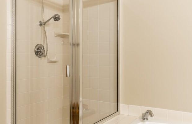3300 E Graf Unit 2 shower and tub in master bathroom