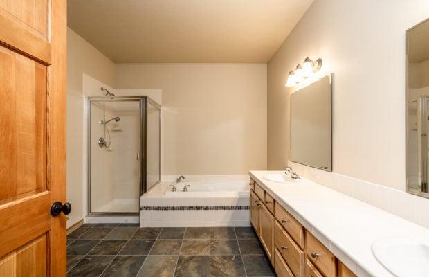 3300 E Graf Unit 2 master bathroom