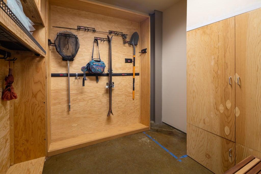 626 E Cottonwood, Loft 2, storage closet inside of building