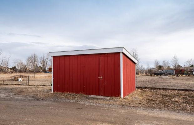 1650 Bandollero detached storage shed
