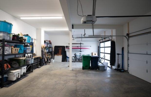 2440 Atsina Lane inside the garage