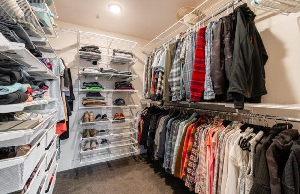 2440 Atsina Lane master closet