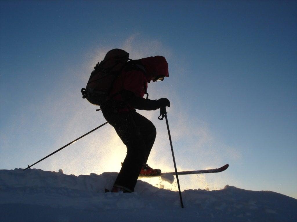 Skier at Maverick Mountain Ski Area