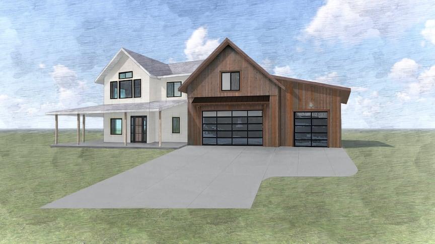 281 Clancy Way main exterior rendering