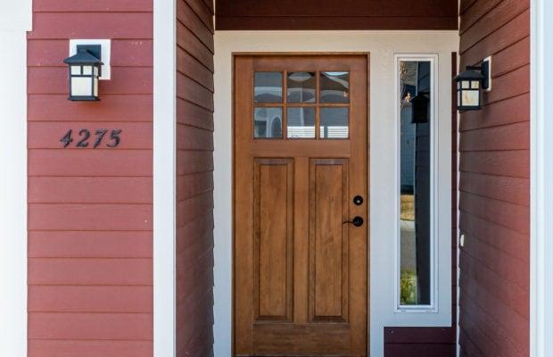 4275 Palisade Drive front door