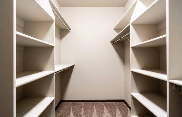 4275 Palisade Drive master closet