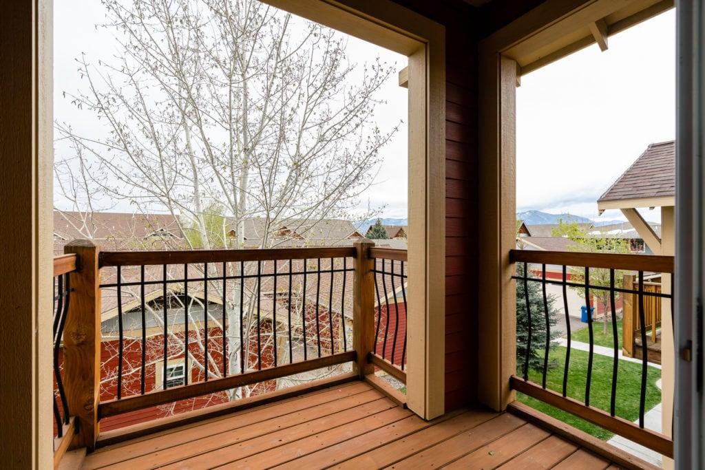 4243 W Babcock #4 balcony off of bedroom 1