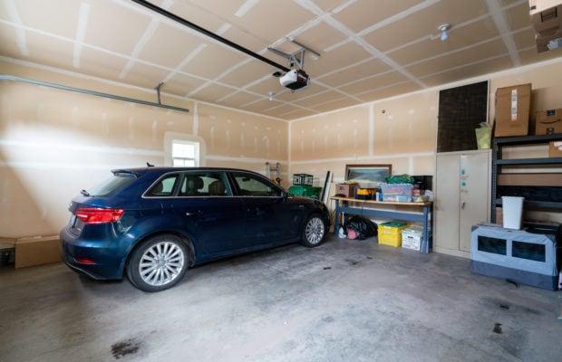 4243 W Babcock #4 inside of garage