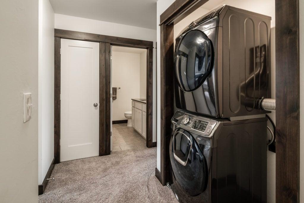 978 Rosa Way, laundry area in 2nd floor hallway