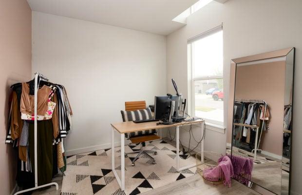 4660 Shadowglen, bedroom 1, used as an office