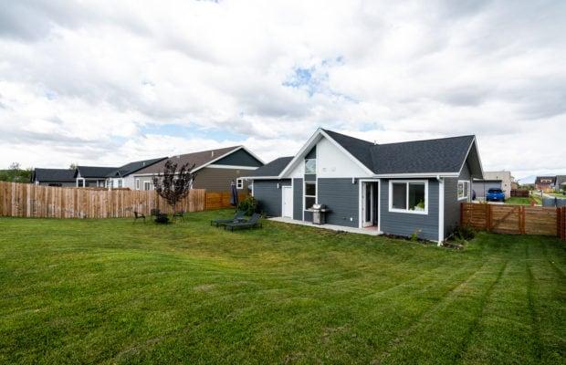 4660 Shadowglen, along back edge of backyard looking towards home